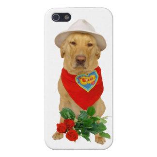 Funny Pet Valentine LOVE Lab iPhone 5/5S Case