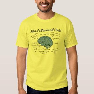 Funny Pharmacist's Brain Gifts Tees