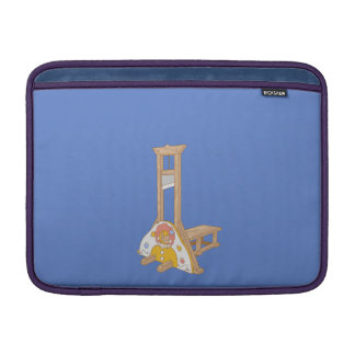 Funny photo boot sleeve for MacBook air