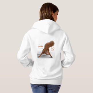Funny Photo of Red Squirrel   Special Kind of Nuts Hoodie