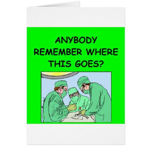 funny physician joke cards
