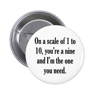 Funny Pick-up Line Pin