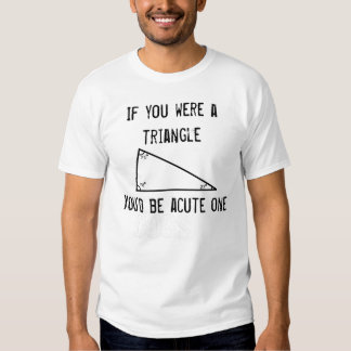 Funny Pickup Line: Triangle T-shirt