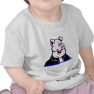funny pig gift humor joke saying tee shirt