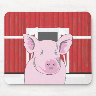 Funny Pig Mousepad