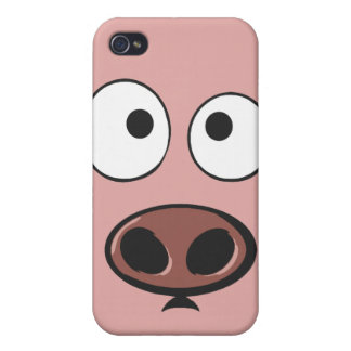 Funny Pig Phone Case For iPhone 4