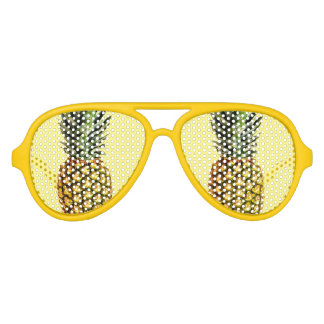 Funny pineapple fruit party shades sunglasses