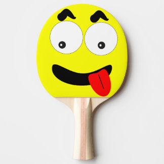 Funny Ping Pong Paddle Face