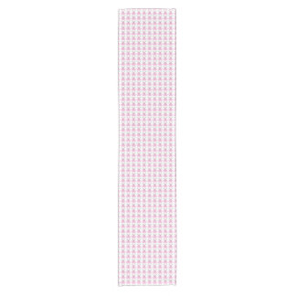 Funny Pink Easter Bunnies Short Table Runner
