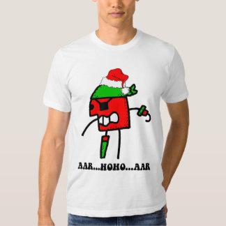 Funny pirate Christmas Tee Shirts