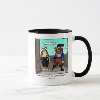 Funny Pirate Humor Mug Gift