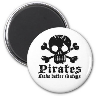 Funny Pirate Magnet