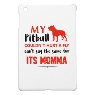 Funny Pit-bull Mommy designs Cover For The iPad Mini