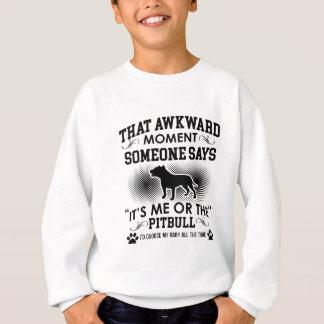 Funny Pitbull Designs Sweatshirt