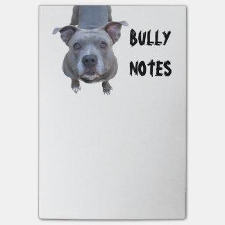 Funny Pitbull Post-it Notes