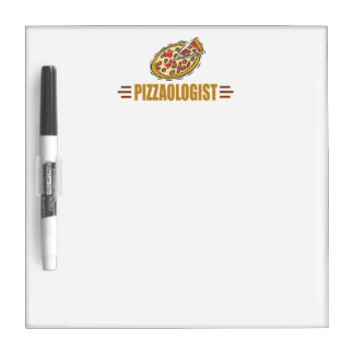 Funny Pizza Dry-Erase Whiteboard