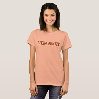 Funny  Pizza Junkie,  Pizza Lovers Graphic T-Shirt