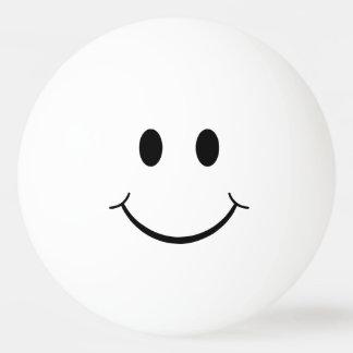 Funny Plain Smiley Face Ping Pong Ball