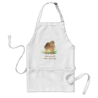 Funny, Planting some seeds? - Garden Apron