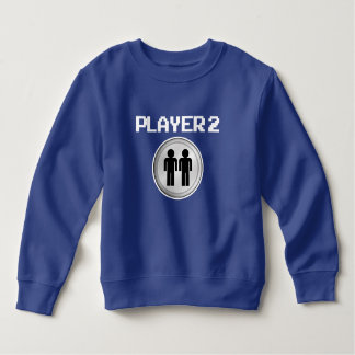 Funny Player 2 boys sweater