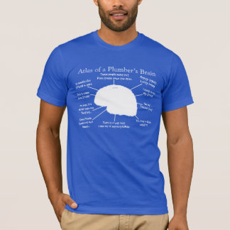 Funny Plumber's Brain T-Shirts and Hoodies