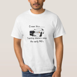 Funny police car shirt