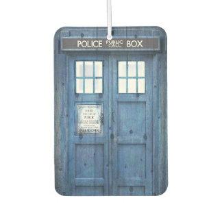 Funny Police phone Public Call Box Air Freshener