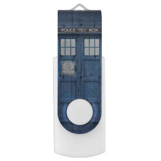 Funny Police phone Public Call Box Swivel USB 2.0 Flash Drive
