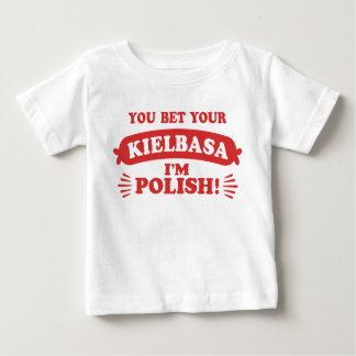Funny Polish Kielbasa Baby T-Shirt