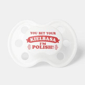 Funny Polish Kielbasa Pacifier