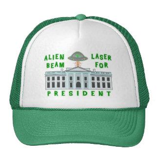 Funny Political Election Humor | Alien Laser Beam Trucker Hat