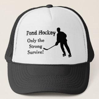 Funny Pond Hockey Trucker Hat
