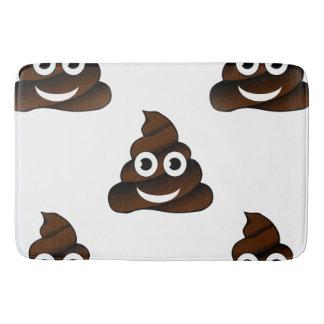 funny poop emoji bathroom bathmat bath mat
