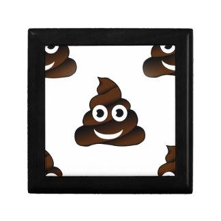 funny poop emoji gift box