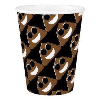 Funny Poop Emoji Paper Cup