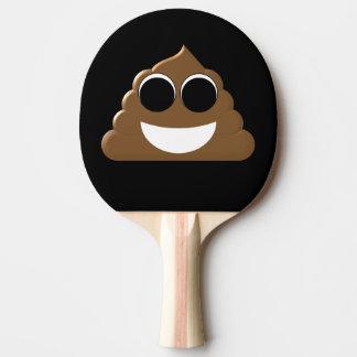 Funny Poop Emoji Ping Pong Paddle