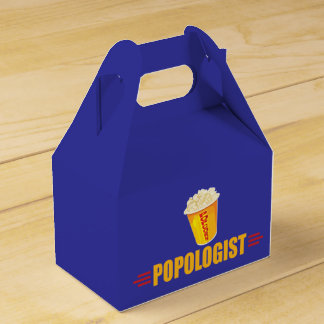 Funny Popcorn Party Favor Box
