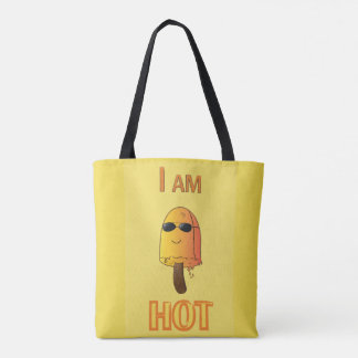 Funny Popsicle Tote Bag