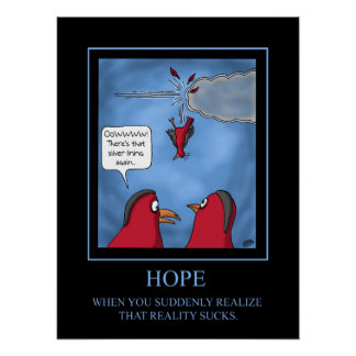 Funny Poster: Hope poster