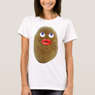 Funny Potato Character Women's T-Shirt
