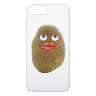 Funny Potato Cute Character iPhone Case