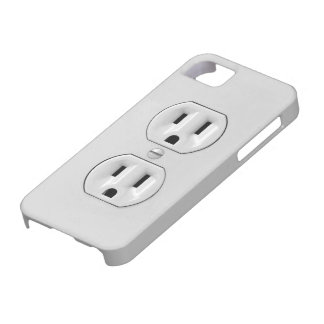 Funny Power Outlet iPhone 5 Covers
