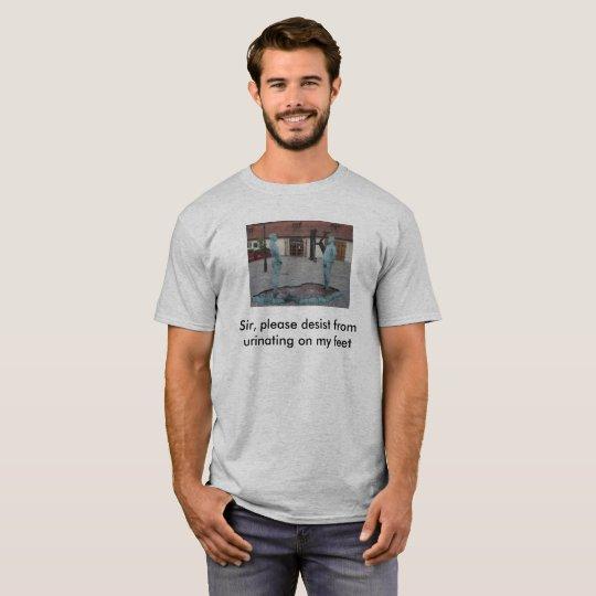 Funny Prague T-Shirt Pee Joke