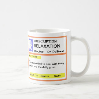 Funny Prescription Coffee Mugs