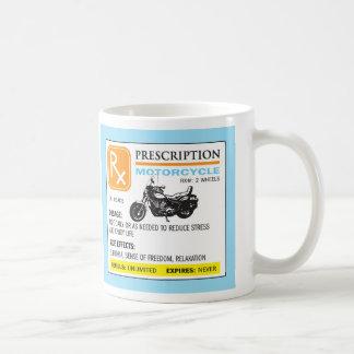 Funny Prescription Motorcycle Mug