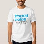 Funny Procrastination Shirts