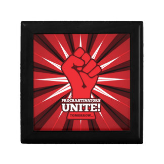 Funny: Procrastinators Unite! (Tomorrow) Gift Box