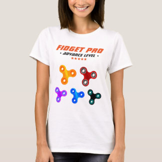 Funny Professional Fidget Spinner T-Shirt