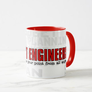 Funny Project Management Engineer with Name Mug