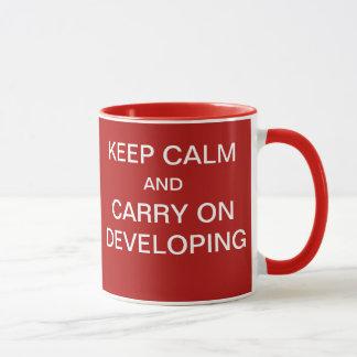 Funny Project System Developer Gift - Go Live Joke Mug